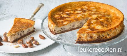 Cheesecake met 4 noten
