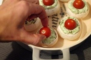 gevulde champignons met ricotta 01