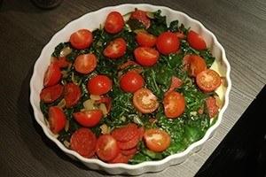 frittata met spinazie en chorizo 01