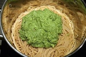 pasta brocolli en zalm 01