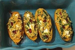 zoete aardappel gevuld met quinoa 01
