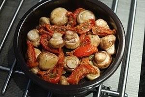 gemarineerde champignons met mangego 01