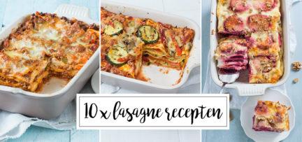 10 x lasagne recepten
