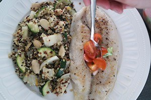 quinoa met vis 01
