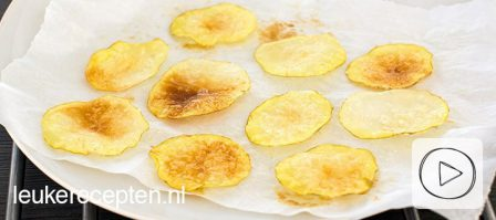 DIY: aardappelchips uit de magnetron