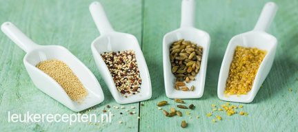 7 populaire granen en zaden op een rijtje - deel 1