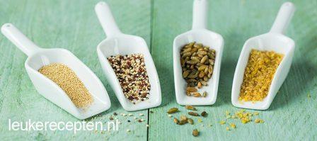7 populaire granen en zaden op een rijtje - deel 2