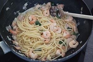 lente pasta met garnalen 01