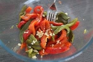 paprika met gefrituurde mozzarella 01