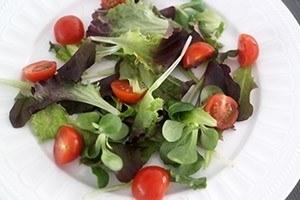 zoete aardappel salade met kip 01
