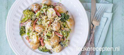 Budget recept: aardappelsalade met broccoli