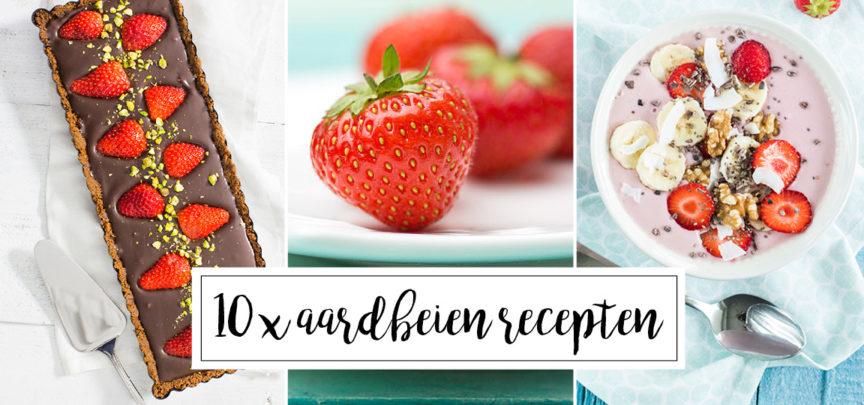 10 x recepten met aardbeien
