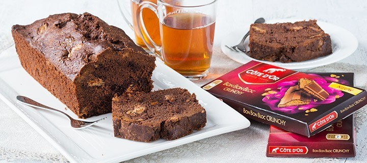 BonBonBloc crunchy chocolade cake