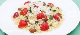 cousocus aardbeien