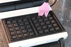 gezonde wafels met aardbeien 01