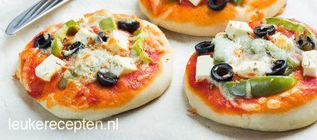 Griekse mini pizza