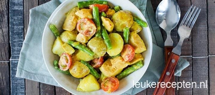 Kip kerrie met aardappel