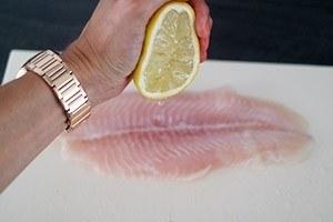 vis met pesto en serranoham 01