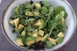 pittige garnalen salade 01