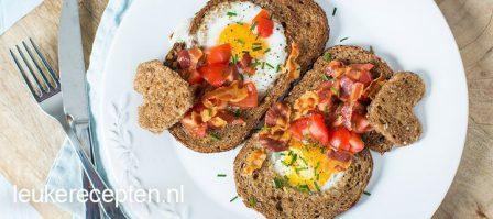 Vaderdag ontbijt: brood met ei
