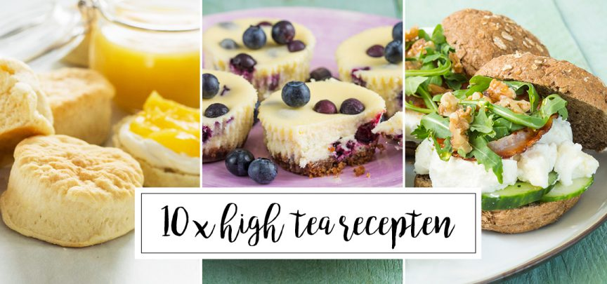 10 x high tea recepten
