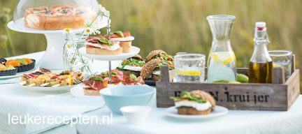 High tea week: 7 x high tea recepten