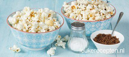Video: popcorn zoet en zout