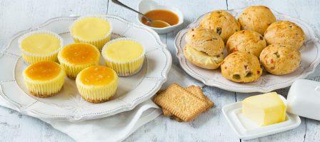 Glutenvrije high tea recepten: zoet & hartig