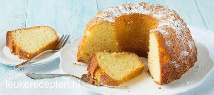 Sinaasappel tulband cake (yiaourtopita)