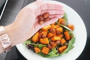 zoete aardappel salade 01