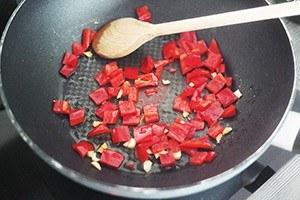 pasta champignons ham 01