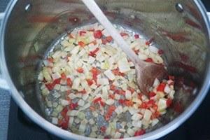 risotto knoflook garnalen 01