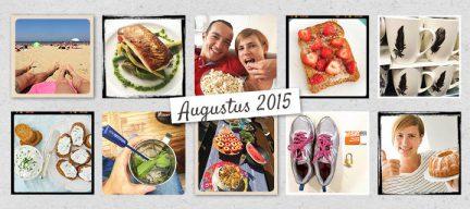 De maand van leukerecepten - augustus 2015