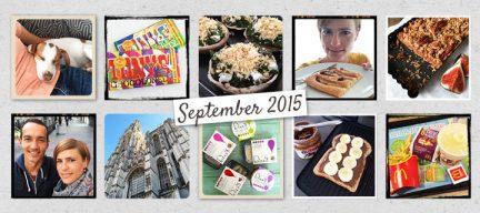 De maand van leukerecepten - september 2015
