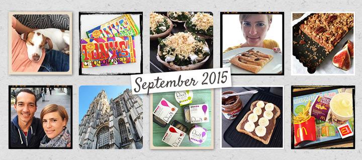 De maand van leukerecepten – september 2015