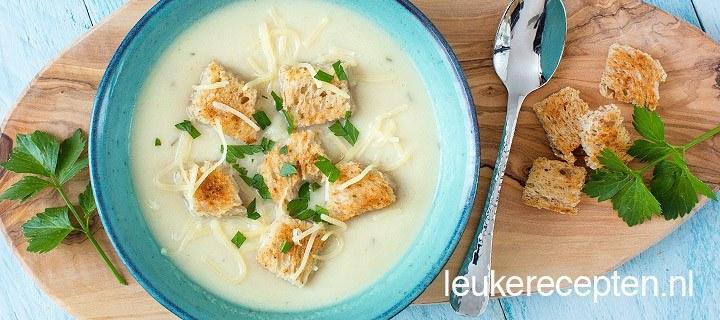 Knolselderij soep