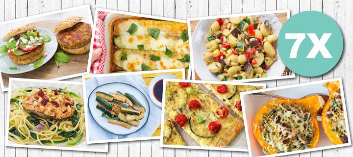 Vega week: 7 x vegetarische recepten