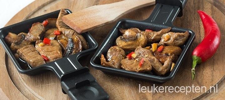 Gourmet recept: oriëntaalse biefstuk