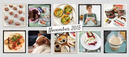 De maand van leukerecepten - november 2015