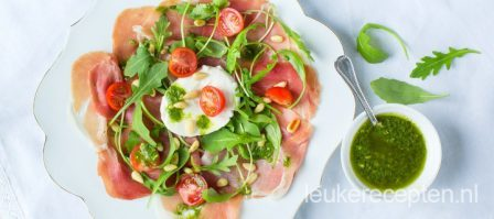 Video: carpaccio van serranoham