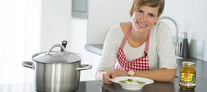 peterselie soep met ei 2