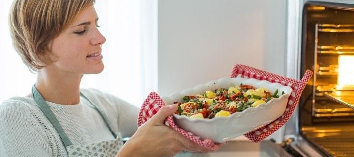 ovenschotel met aardappels en sperziebonen 03