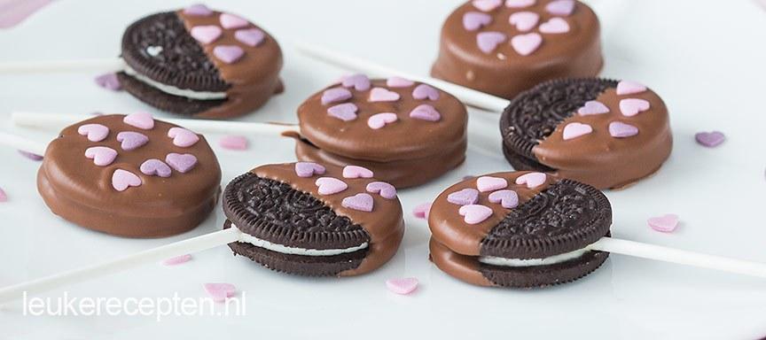 Oreo valentijn pops
