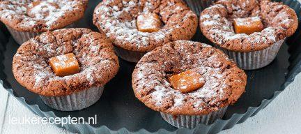 Glutenvrije choco sinaasappel cakejes