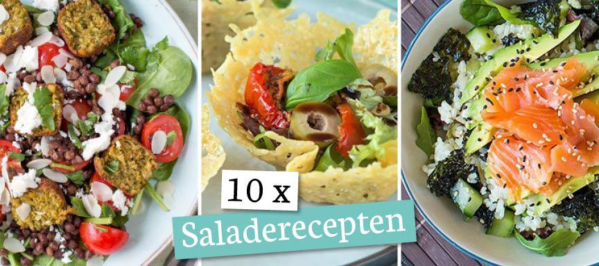 10 x saladerecepten