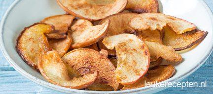 Appel en peer chips