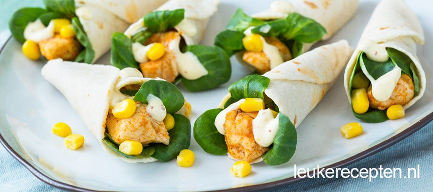Populair Mini tortilla hoorntjes - Leuke recepten &LW14