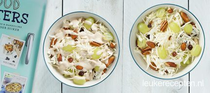 Recept witte koolsalade + review Foodsisters