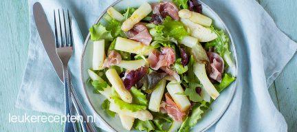Asperge salade met peer