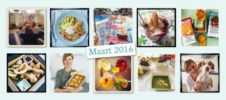 De maand van leukerecepten - maart 2016